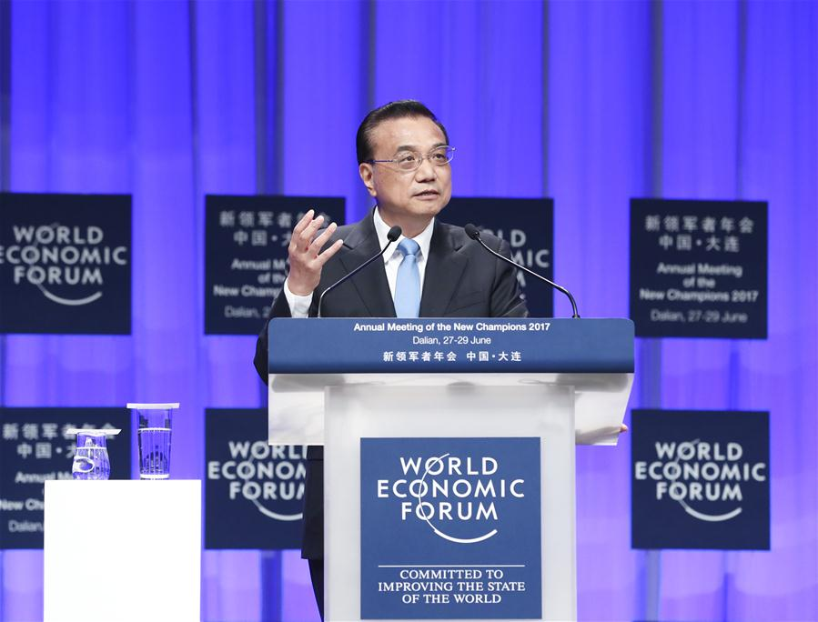 <strong>Free trade 'good medicine' for global recovery: Premier Li</strong>